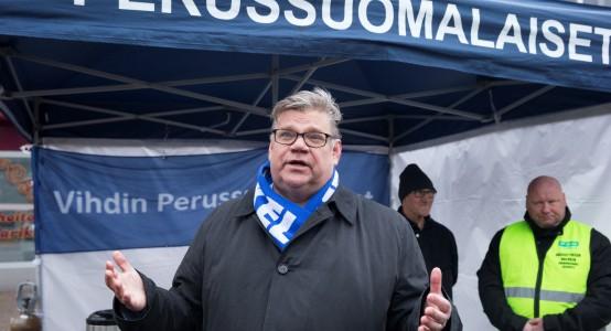 28.11.2015 Nummela, Timo Soini. Kuva Matti Matikainen