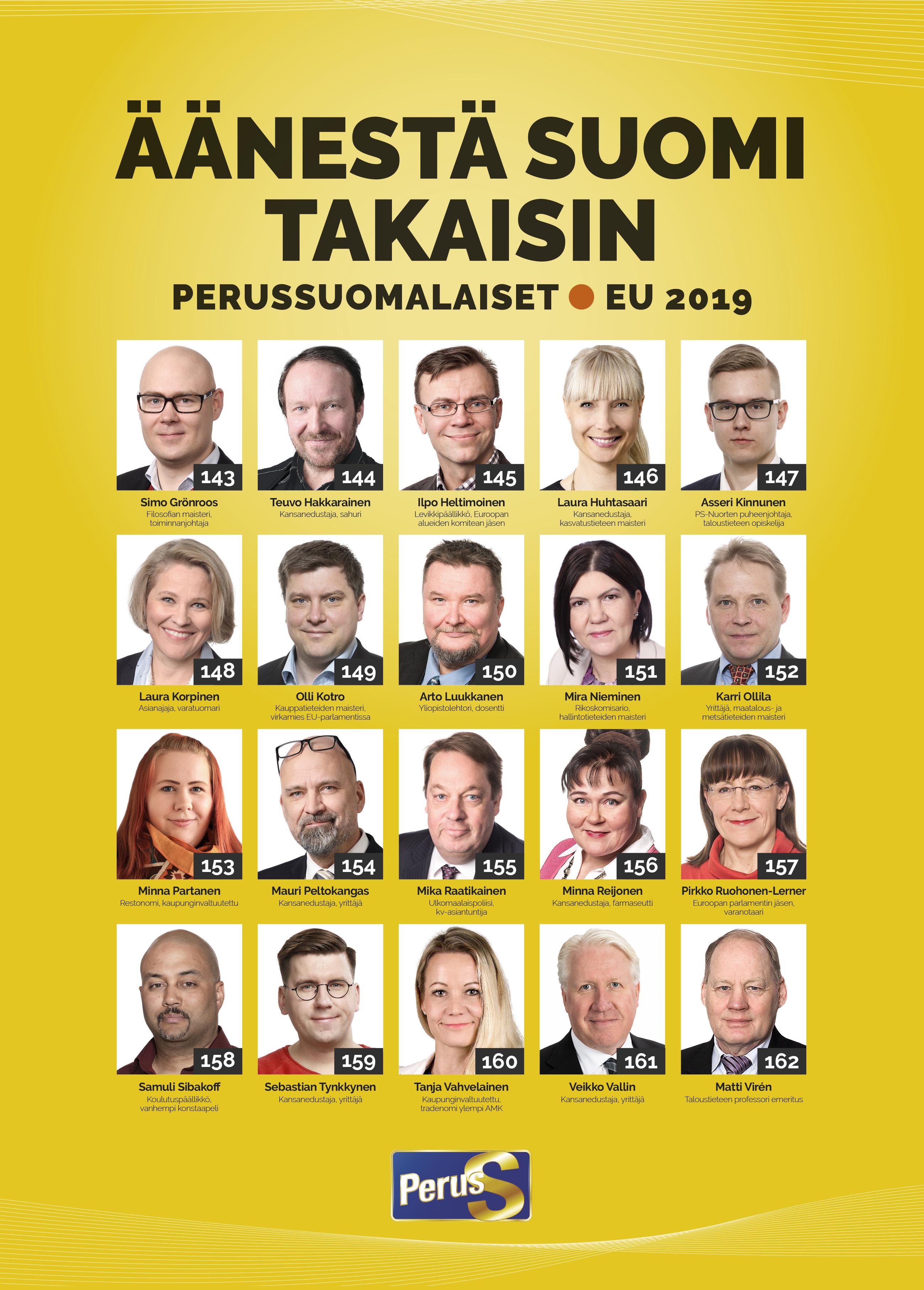 vaasan vaalipiiri ehdokkaat