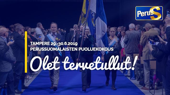 Perussuomalaisten Puoluekokous 2021