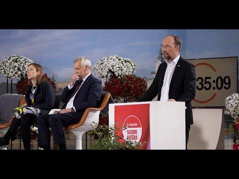 Jussi Halla-ahon arvopuhe sananvapaudesta