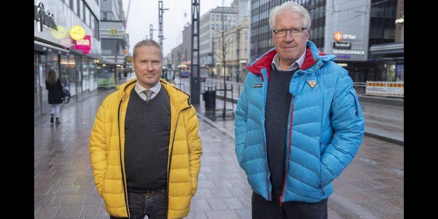 Kummasta Tampereen pormestari? Kaleva vai Vallin?