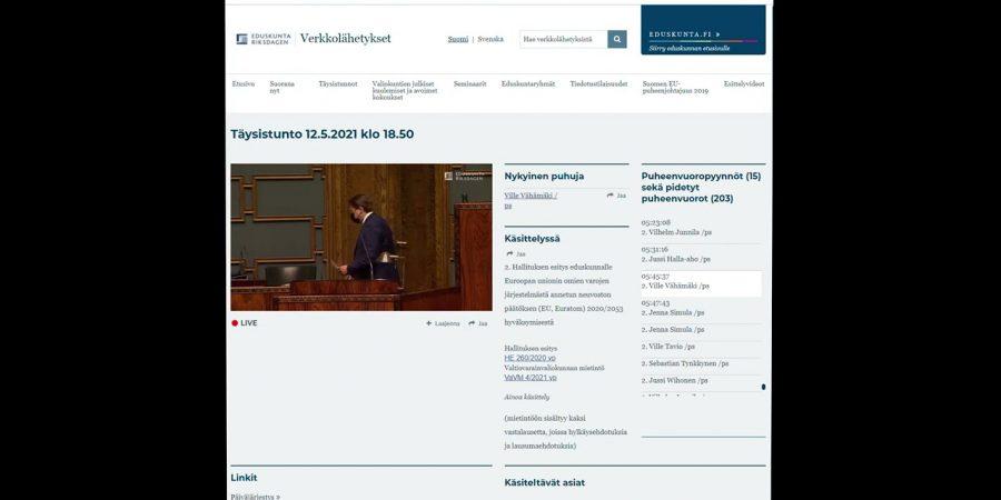 Keskustelu EU-paketista keskeytyi, pöydällepano perustuslakivaliokuntaan