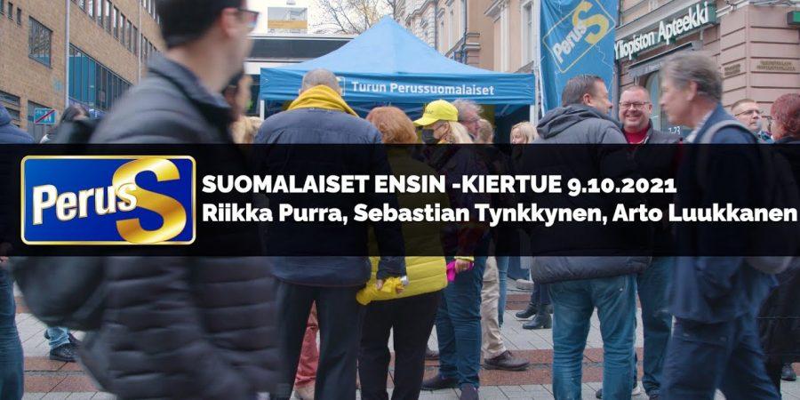 Riikka Purra, Sebastian Tynkkynen, Arto Luukkanen – suomalaiset ensin!