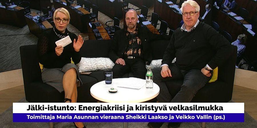 Sheikki Laakso, Veikko Vallin: velkasilmukka kiristyy, hallitus ei tee mitään